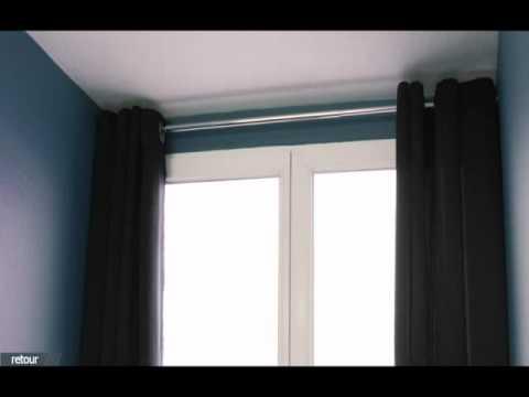 comment poser tringle rideaux sans percer la r ponse est sur. Black Bedroom Furniture Sets. Home Design Ideas