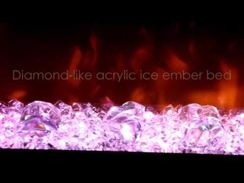 Электрокамин Dimplex Prism 34 LED wf Video #1
