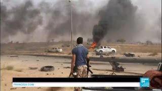 War in Libya: US-backed forces advance in Islamic State group stronghold