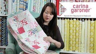 Episode 29 3 Easy Beginner Quilts