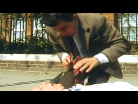 Mr. Bean Takes First Aid? Not a Great Idea...