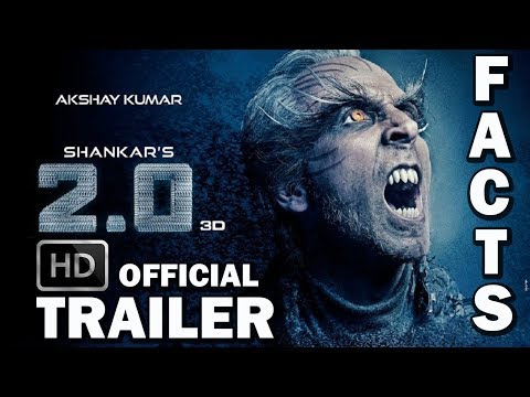 Download ROBOT 2.0 Interesting Facts 2018 🤖| 2.0 Official Trailer HD | Robot 2.0 Rajinikanth | Akshay Kumar HD Mp4 3GP Video and MP3