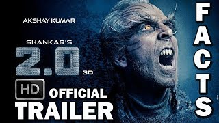 ROBOT 2.0 Interesting Facts 2018 🤖| 2.0 Official Trailer HD | Robot 2.0 Rajinikanth | Akshay Kumar