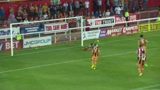Exeter City 1 Hull City 3 23/8/16 EFL Cup Round 2