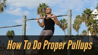 How to do Proper Pullups