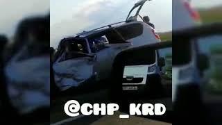 Жесткое ДТП в Белореченском районе, 9 трупов