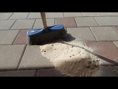 Чем заполнять швы тротуарной плитки