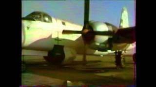 preview picture of video 'Point fixe moteurs  avion  Neptune P2V7 sur la BAN de Rochefort'