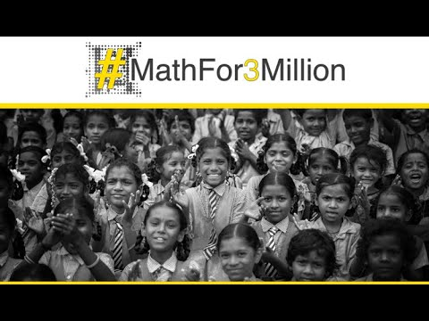 #MathFor3Million