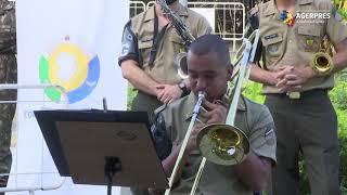Brazilia: Orchestra militară a cântat, într-un spital de campanie COVID-19, pentru medici