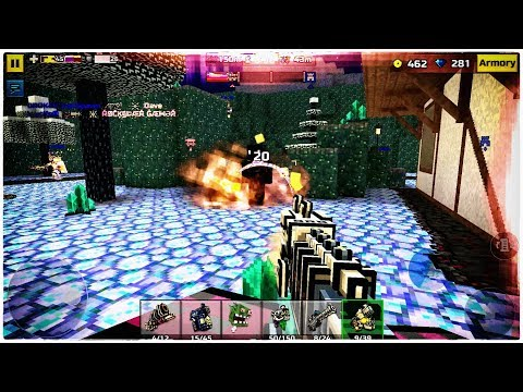 Pixel Gun 3D - Bone Skull Weapons Clan Siege