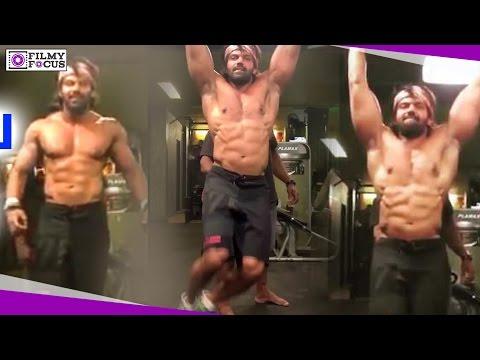 Kadamban Actor Arya Gym Workout    Kadamban    Arya    Yuvan Shankar Raja