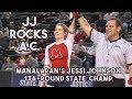 Manalapan's Jessi Johnson wins 136 lb. N.J. State Championship