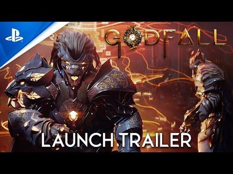 Launch Trailer PS5 de GodFall