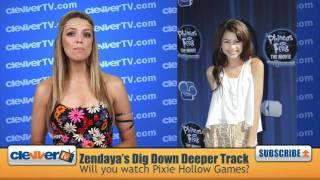 Zendaya's 'Dig Down Deeper' Single For 'Pixie Hollow Games'
