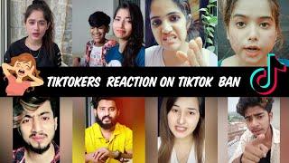 Tiktokers Reaction on Tiktok Ban | Tiktok Ban in India | Tiktoker Crying After Ban | India vs China