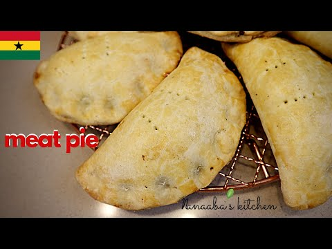 Easy way to  make the tastiest and flakiest Ghanaian Meat Pie for your family at home