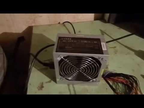 Компьютерный блок питания для привода медогонки