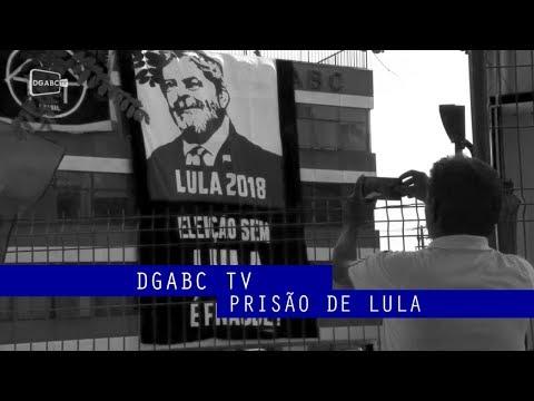 Prisão de Lula: DGABC TV acompanha manifestação no sindicato