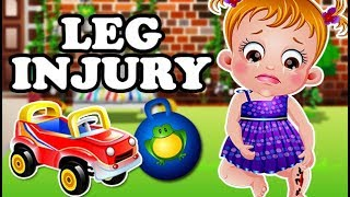 Baby Hazel Leg Injury | Fun Game Videos By Baby Hazel Games