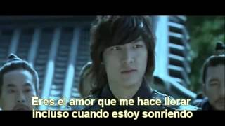 MVThe Faith OST   Shin Yong Jae Because my steps are slow sub español