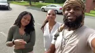 BLACK MAN AND HIS TWO WIFE'S EXPLAINS   po·lyg·a·my