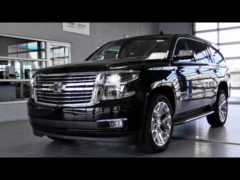 2017 Chevrolet Tahoe: Review
