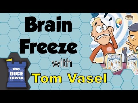 Dice Tower Reviews: Brain Freeze / Telepathy