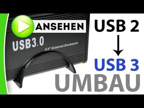 Festplatte von USB 2.0 auf USB 3.0 umbauen - caphotos.de