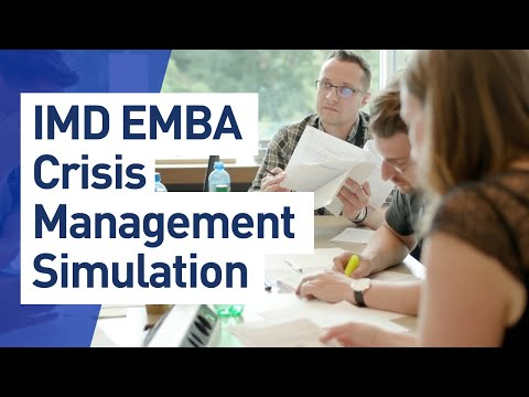 Crisis Simulation: EMBA Leadership Skills Training - YouTube