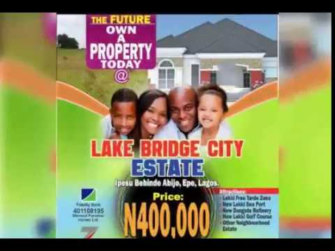 Blesssed Paradise Home LTD Real estate company Buy cheap land in Lekki