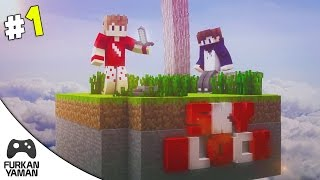 Minecraft SkyBlock - Bölüm 1 - ÇİFT FACECAM!!