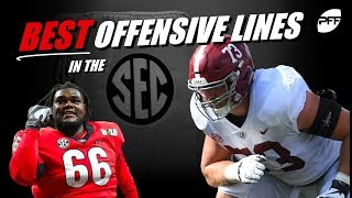 Best Offensive Lines in the SEC   PFF