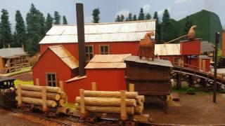 Realistic HO Train Layout On30 model railroading Robotized Miniature
