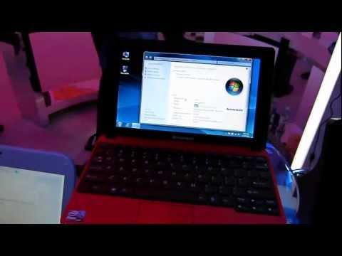 Lenovo Ideapad S100 Netbook Hands On