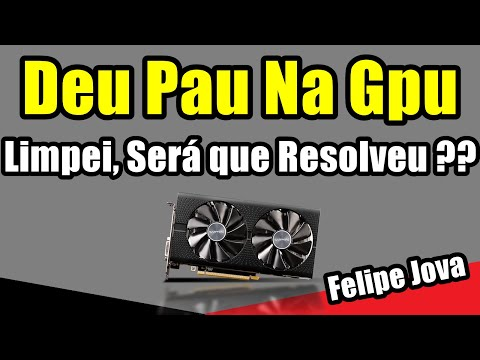 Deu Pau na GPU