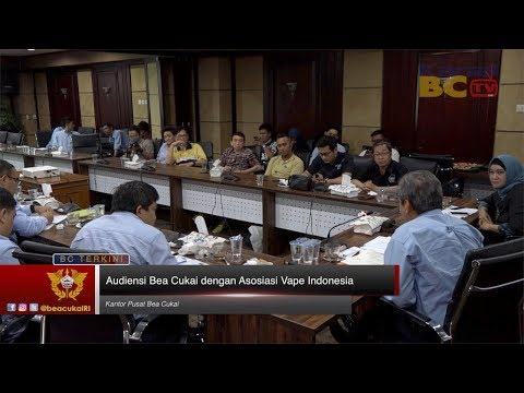 Audiensi Bea Cukai dengan Asosiasi Vape Indonesia