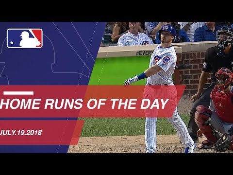 Watch all the home runs from July 19, 2018