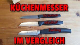 ✔ KÜCHENMESSER im VERGLEICH: Victorinox,Wüsthof und Zwilling (Auftragsvideo für Frau Brehm)