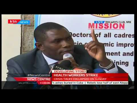 Health workers from across the country bow down their tools seeking salary hike
