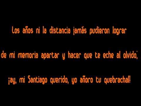 download lagu mp3 mp4 Cuando Sali De Santiago Letra, download lagu Cuando Sali De Santiago Letra gratis, unduh video klip Download Cuando Sali De Santiago Letra Mp3 dan Mp4 Music Online Gratis