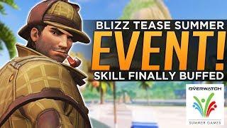Overwatch: Summer Games Next Week!? - Blizzard Finally BUFFS Skill!