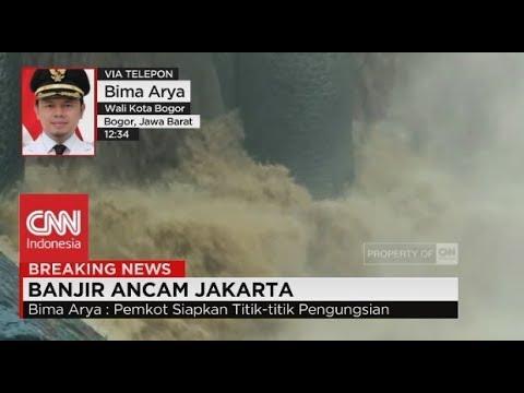 Bima Arya: Ada 13 Titik Banjir di Bogor; Katulampa Siaga Satu!