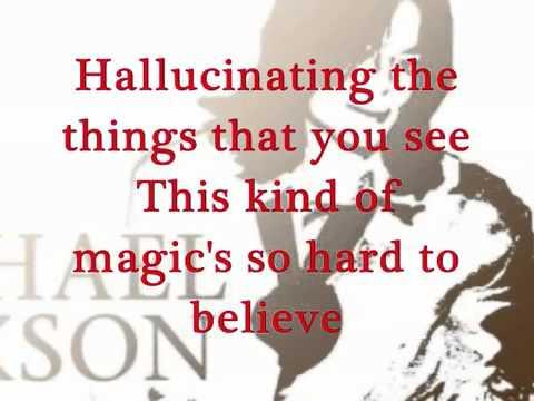 Michael Jackson Mind is the Magic Lyrics HD