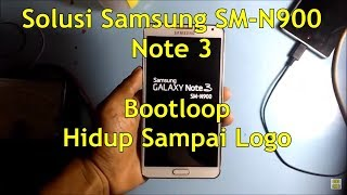 Samsung Galaxy Note 3 Show Only Logo Can Resolve By Hard Reset