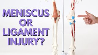 How to Tell if Knee Pain is Meniscus or Ligament Injury