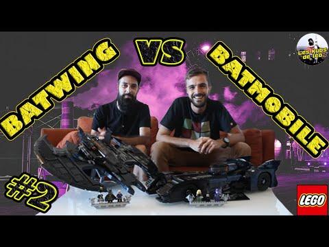 Vidéo LEGO DC Comics 76161 : Le Batwing de 1989