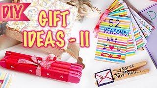 DIY Gift Ideas For Him/Her - II | 52 Reasons | Photo Card | Clothespin Message | Kreena Desai
