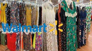 Walmart Clothing Part 2 | Summer Tops Maxi Dresses | Shop With Me June 2019