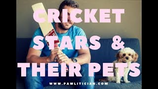 Cricket Stars and Their Pets -|Ep 2: Pawlitician.com Celebs and Their Pets